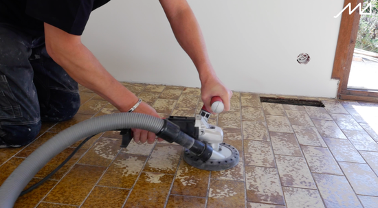 Tile substrate preparation