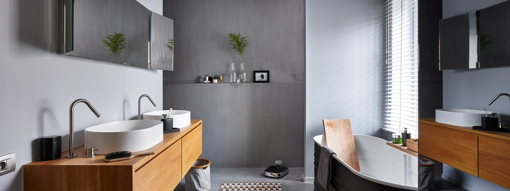 beton mineral sol plan de travail en bton cir with beton. Black Bedroom Furniture Sets. Home Design Ideas