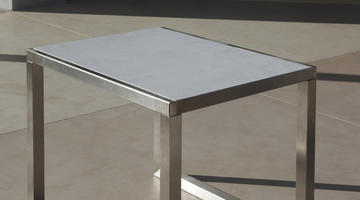 Showcase. Table Beton Cire