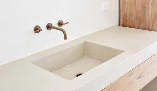 MA's bathroom collection : Bathroom sink worktops