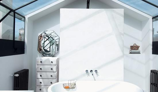 MA's bathroom collection : Water resistant concrete walls
